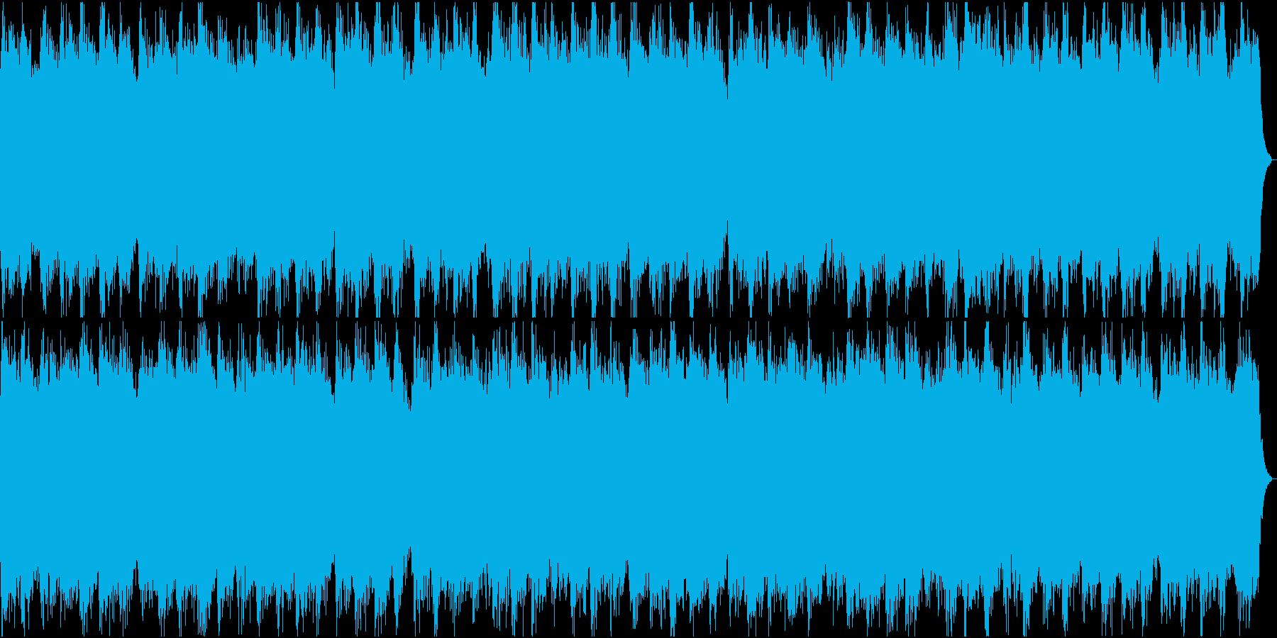 神秘的なリラクゼーション・ドラム無しの再生済みの波形