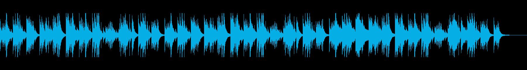 アルペジオアコースティックギター。...の再生済みの波形