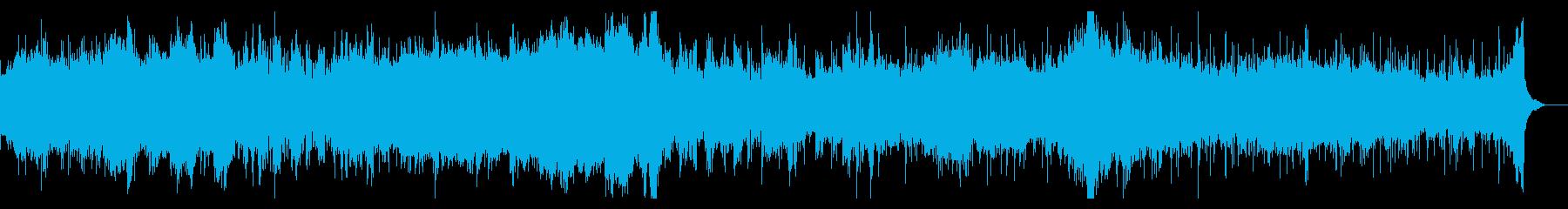 シネマティックでインテリジェンスなIDMの再生済みの波形