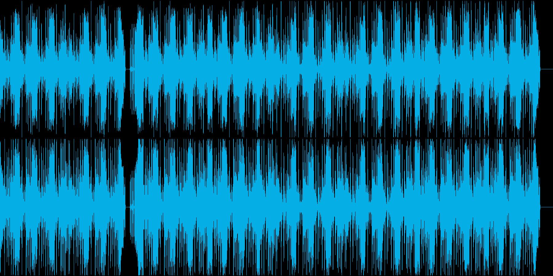 激しくファンキーなHiphopの再生済みの波形
