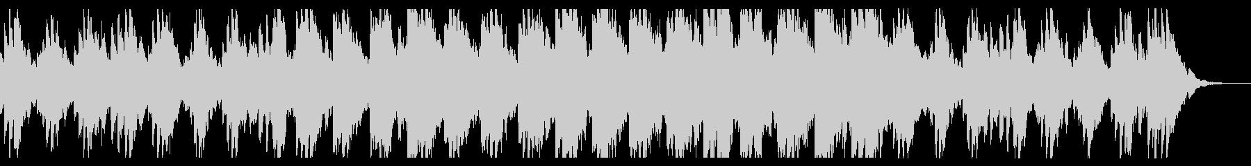 ヒーリング系ジングルの未再生の波形