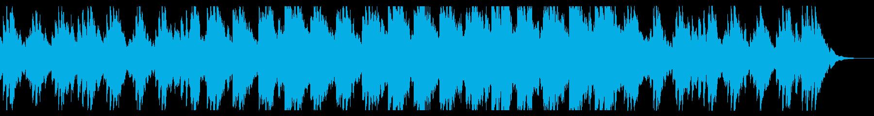 ヒーリング系ジングルの再生済みの波形