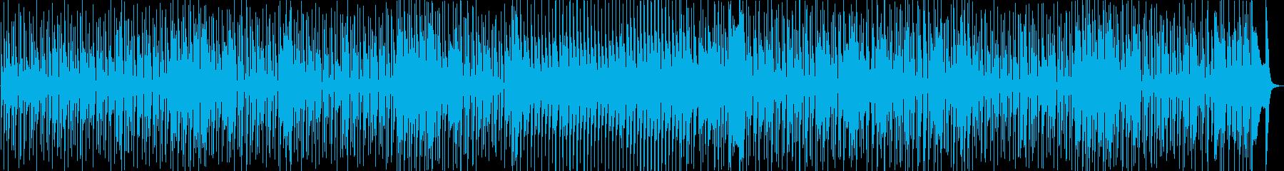 70年代風のレトロファンキーチューン-1の再生済みの波形