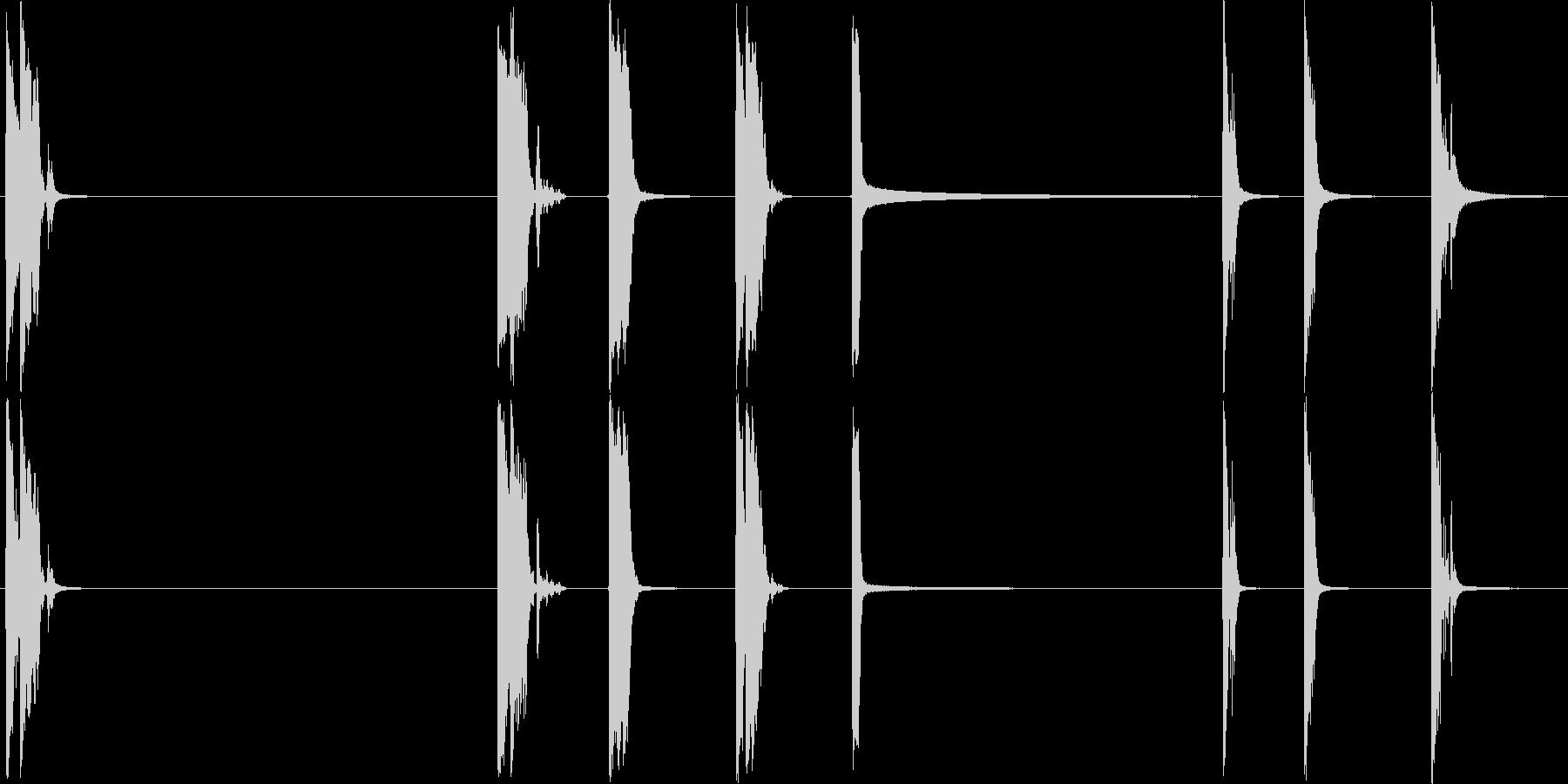 アルミニウムプレートは、コンクリー...の未再生の波形