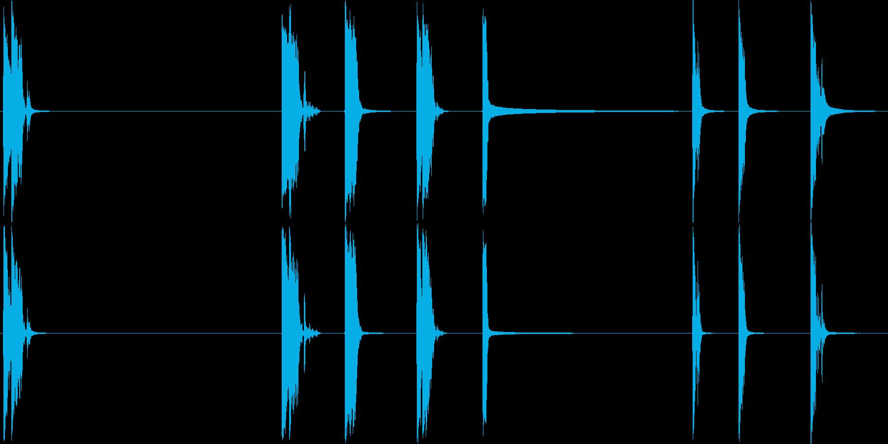 アルミニウムプレートは、コンクリー...の再生済みの波形