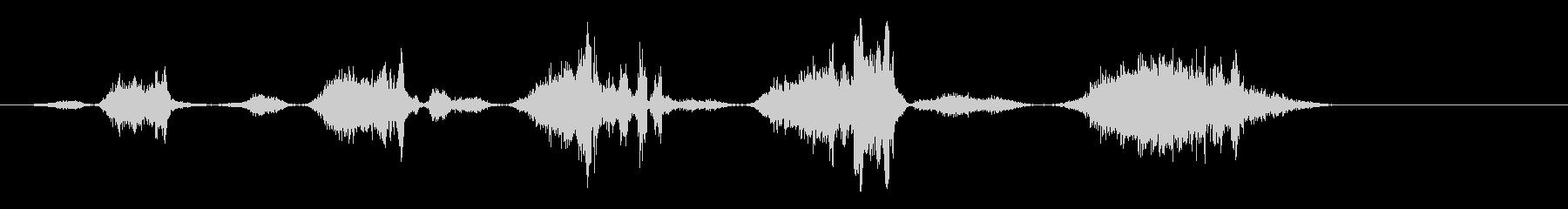 ファニーフライブレス-ヘビーウィズ...の未再生の波形