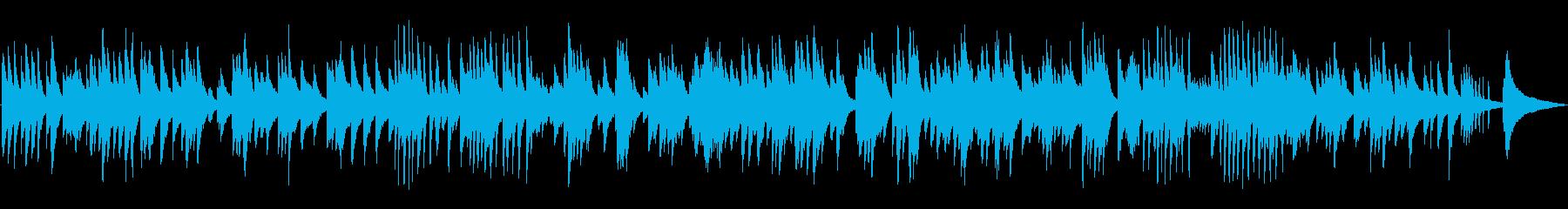 ゆったりとしたジャズラウンジピアノソロの再生済みの波形