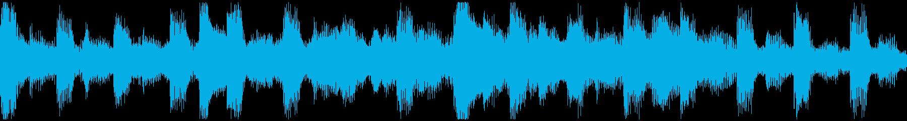 <ショートループ> ピアノ④+ビートAの再生済みの波形