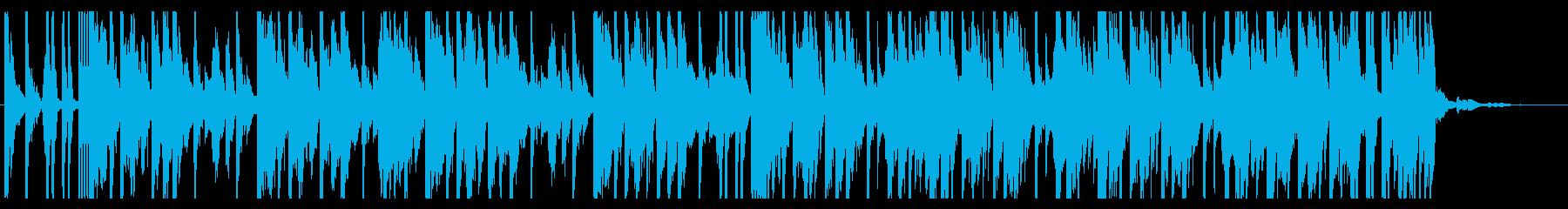 青/海/エレクトロ_No407_4の再生済みの波形