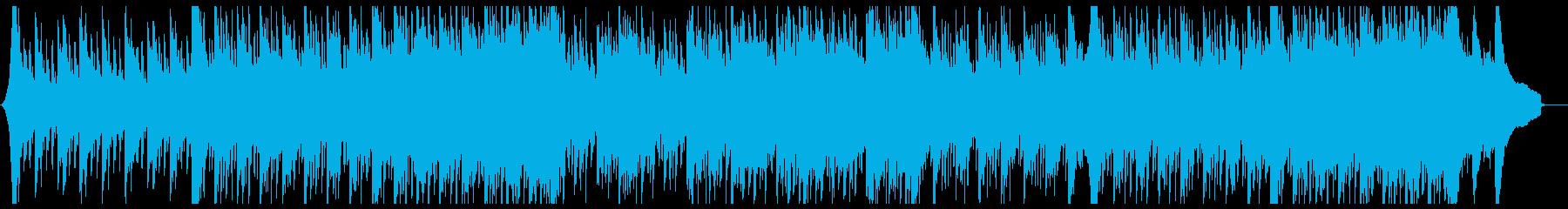 【CM・企業VP】和風・四つ打ちの再生済みの波形
