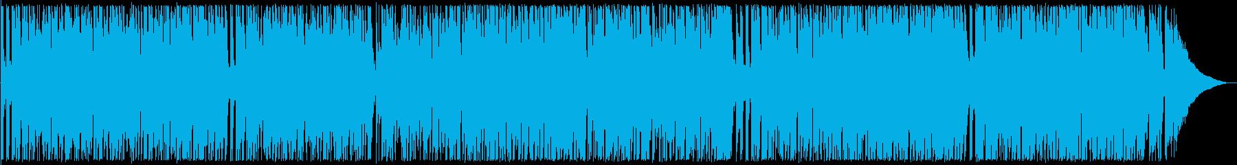 軽やかなギターサウンドの再生済みの波形