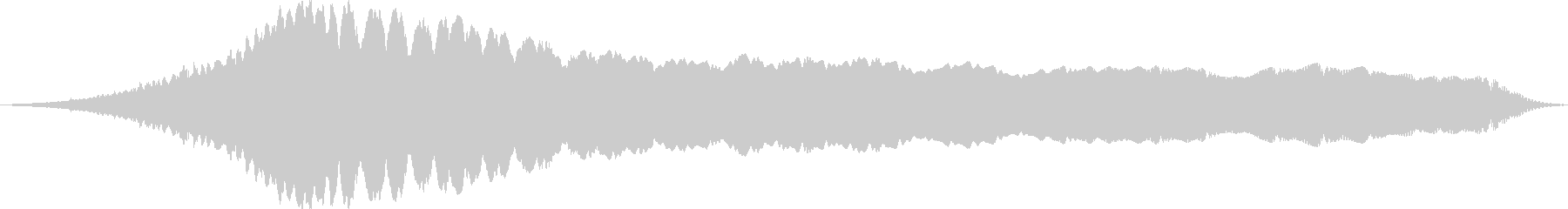 クイック電子高周波降下の未再生の波形