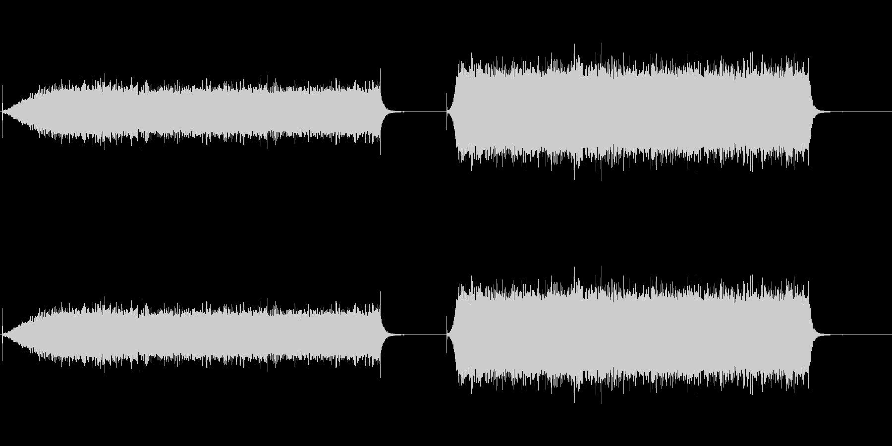 エアコン1の未再生の波形