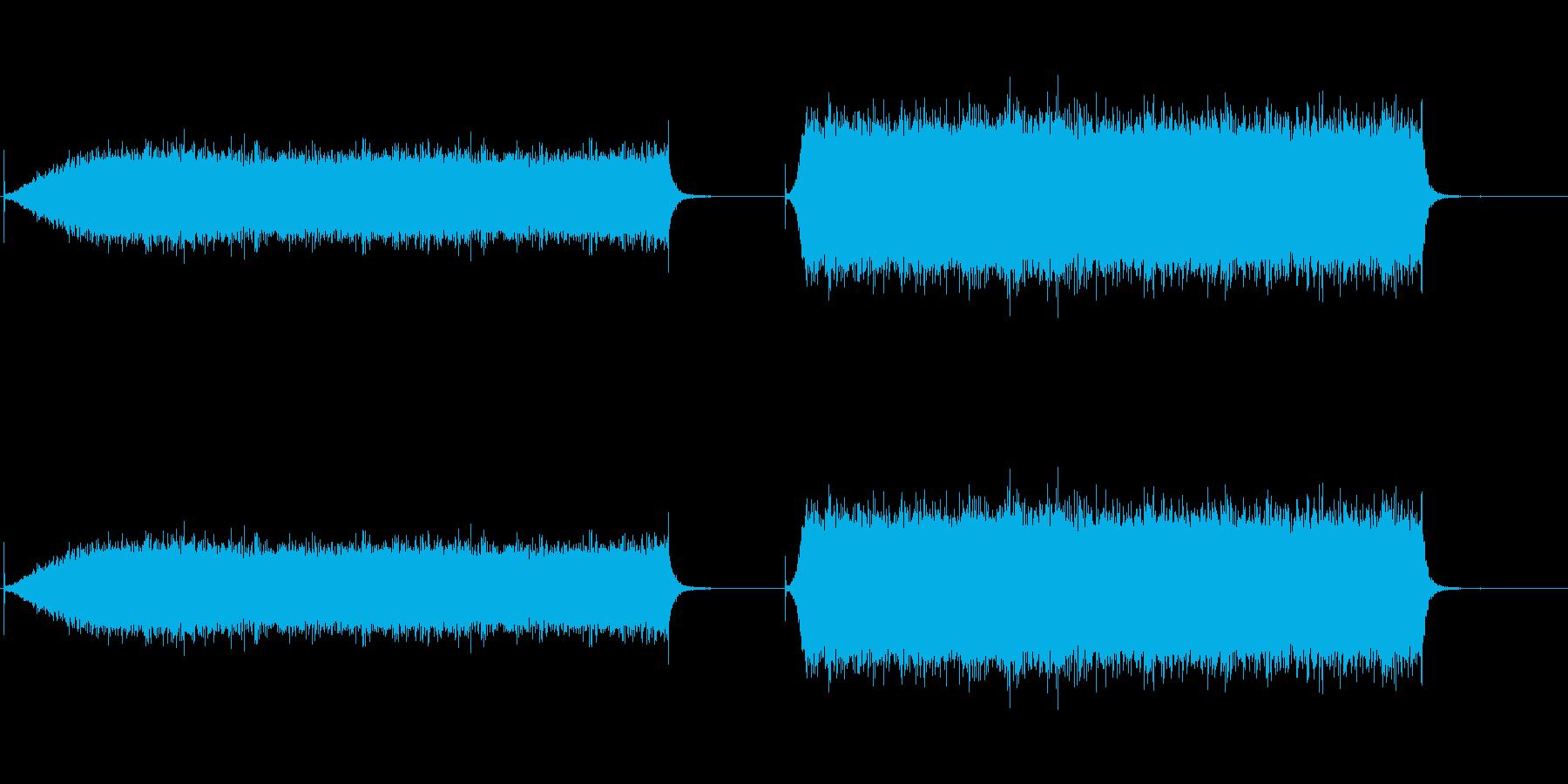 エアコン1の再生済みの波形