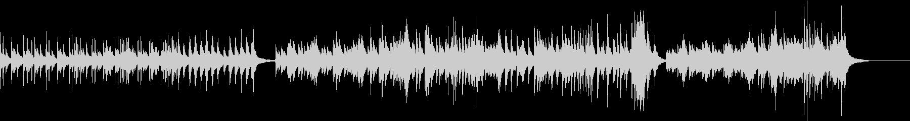 和風で少し切ないテンポ良い琴のソロ曲の未再生の波形