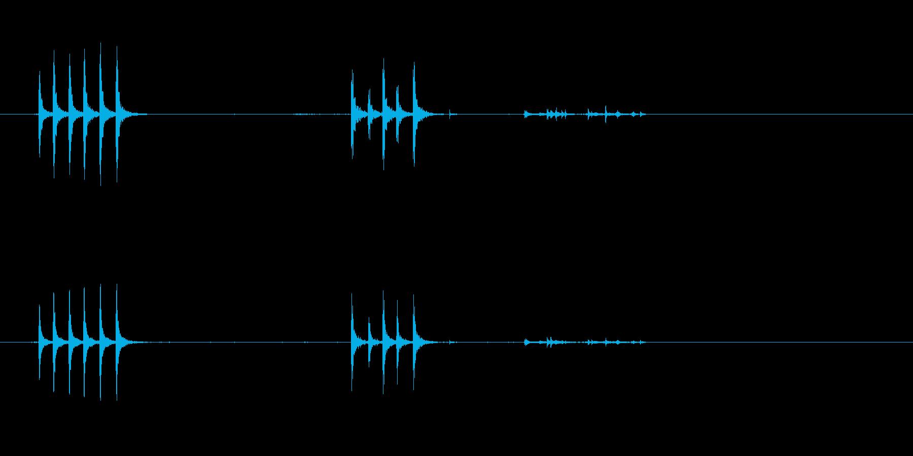 ドアノッキング-ドアノック-ドアD...の再生済みの波形