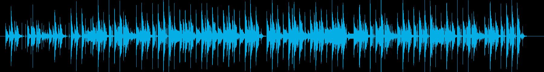 コミカルでかわいらしいジングルLongの再生済みの波形