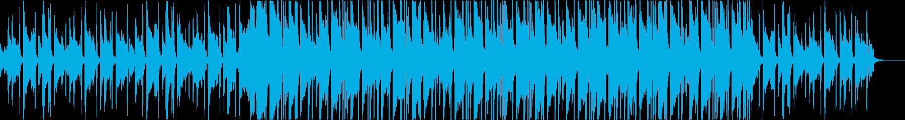 チルアウト洋楽CMアコギヒップホップbの再生済みの波形