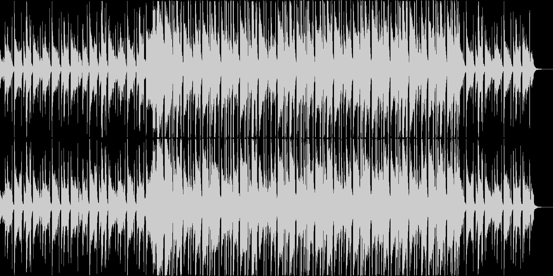 チルアウト洋楽CMアコギヒップホップbの未再生の波形