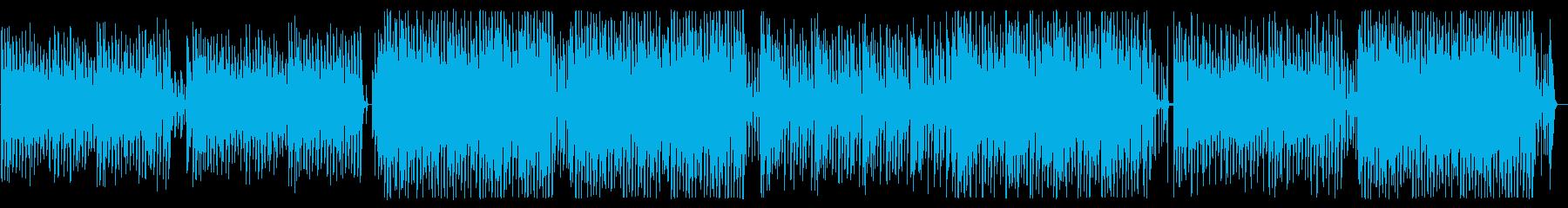 軽快、ハッピー、ポップ、ピアノ、ギターの再生済みの波形