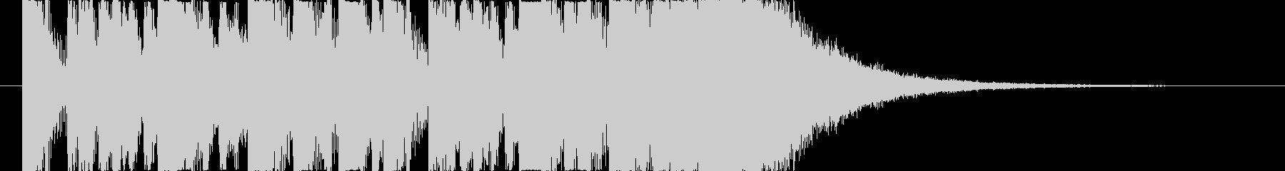 ダークな旋律のTRAPジングルの未再生の波形