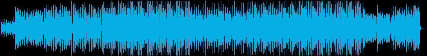 ケルト民族風EDMの再生済みの波形
