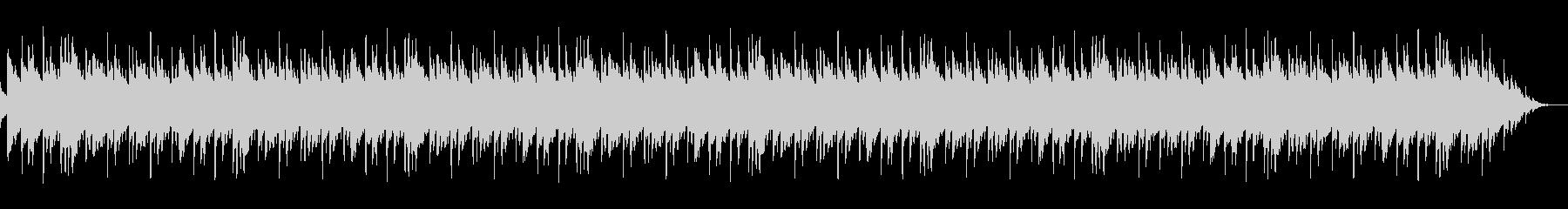 琴を使った繰り返しの短い曲の未再生の波形