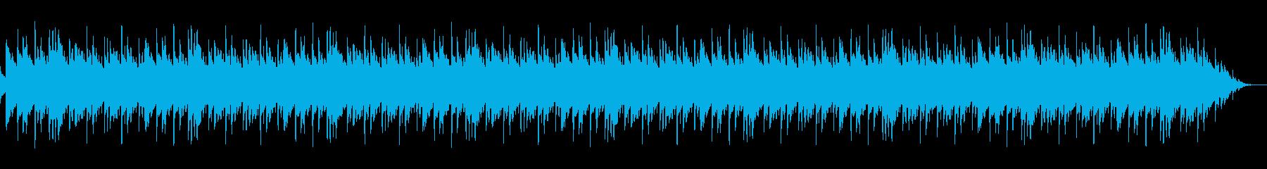 琴を使った繰り返しの短い曲の再生済みの波形