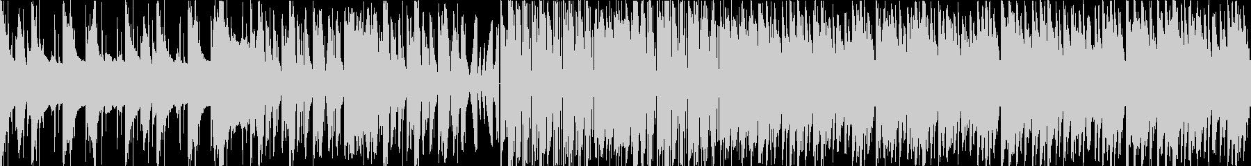 ダーク テクノ エレクトロ ループの未再生の波形