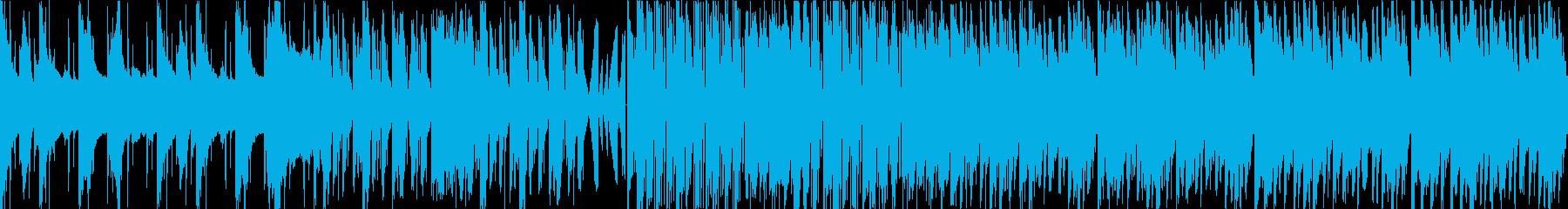 ダーク テクノ エレクトロ ループの再生済みの波形