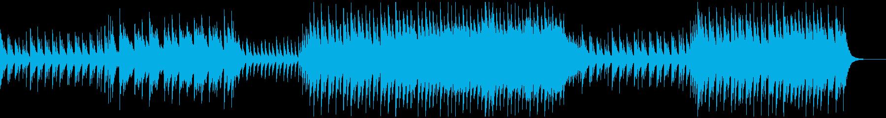 【メロなし】和・アジアBGMの再生済みの波形