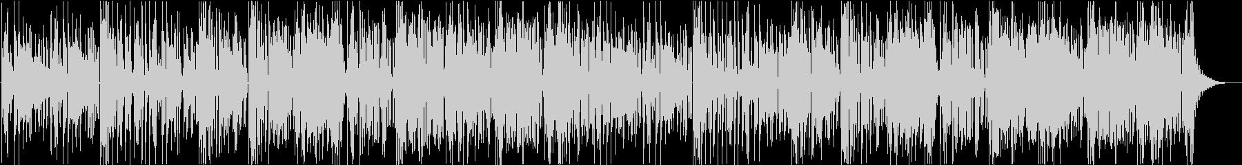 妖しいムードのジャンプアップの未再生の波形