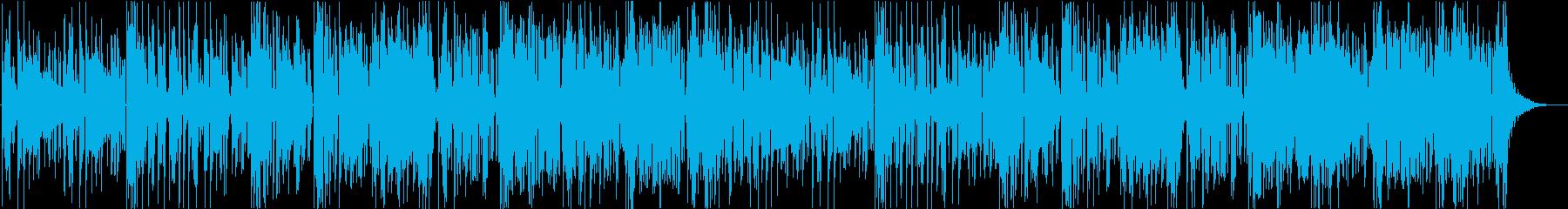 妖しいムードのジャンプアップの再生済みの波形