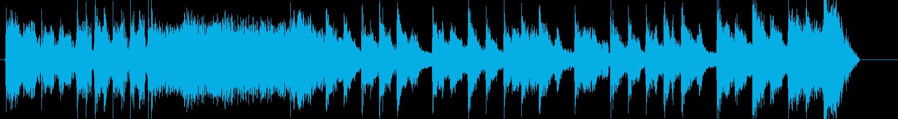 短いのん、コミカルなテクノなんの再生済みの波形