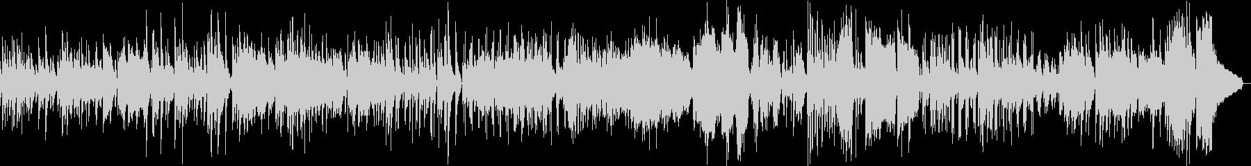 グリーンスリーブス合唱  ジャズアレンジの未再生の波形