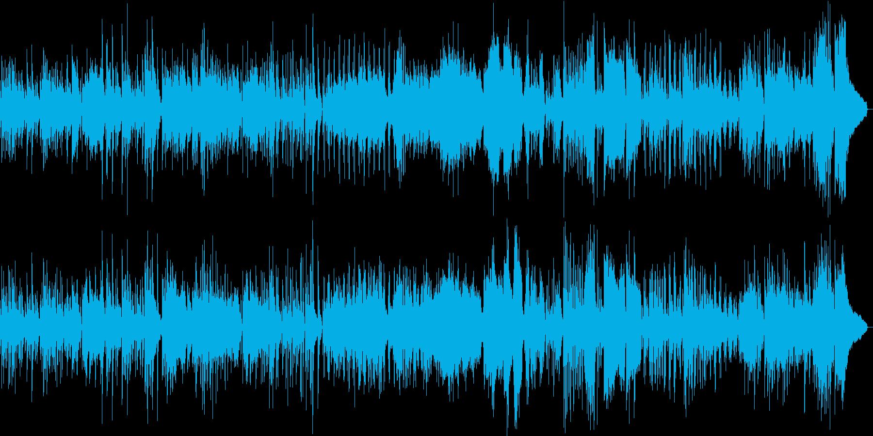 グリーンスリーブス合唱  ジャズアレンジの再生済みの波形