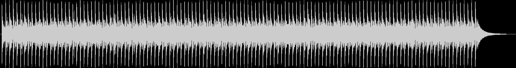 シンセサイザーが印象的なBGM2の未再生の波形