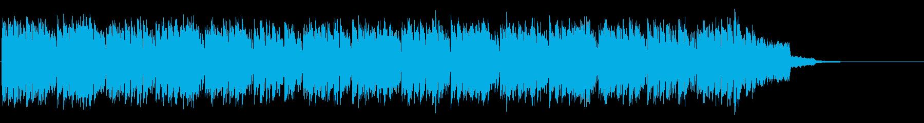 リフがエモい短い王道ユーロビートの再生済みの波形