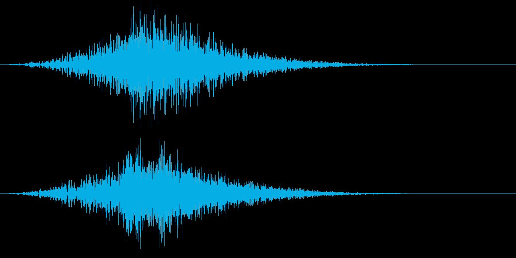 【シーン】ホラー_シューンッッッ・・・の再生済みの波形