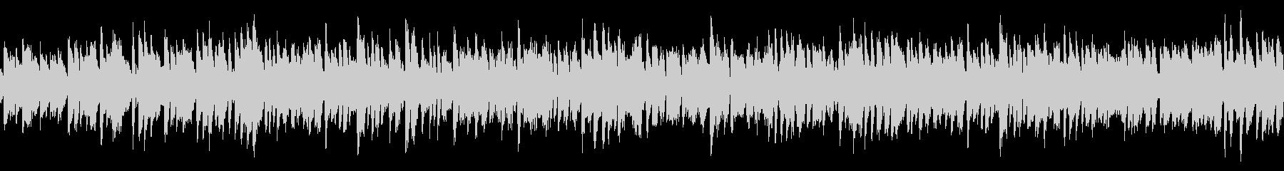 ポップなコメディー向きBGM(ループ)の未再生の波形