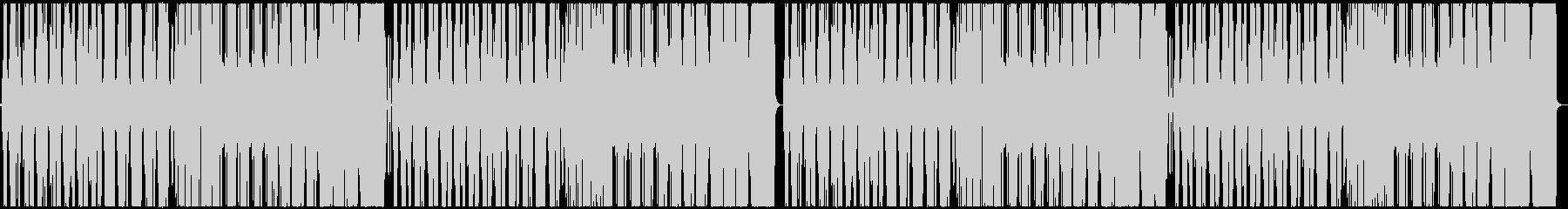 シンセサウンドが映えるデジタルおしゃれ曲の未再生の波形
