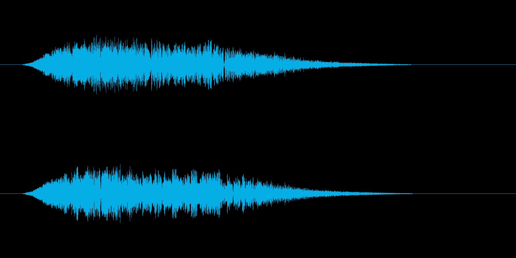 幽霊、怪談のSE その1の再生済みの波形