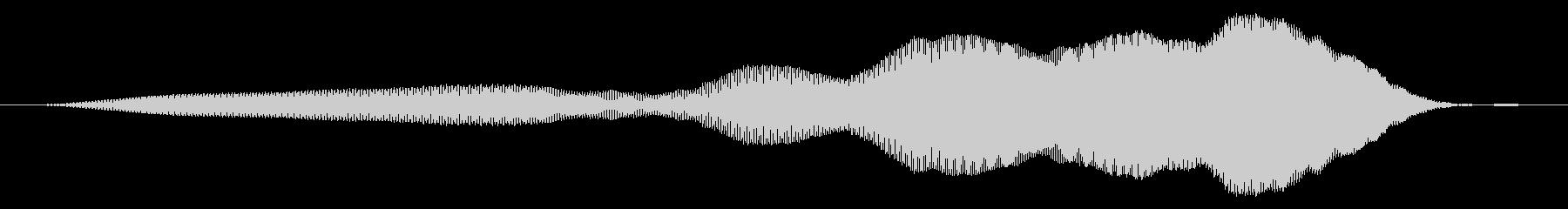 漫画スライドwhiの未再生の波形