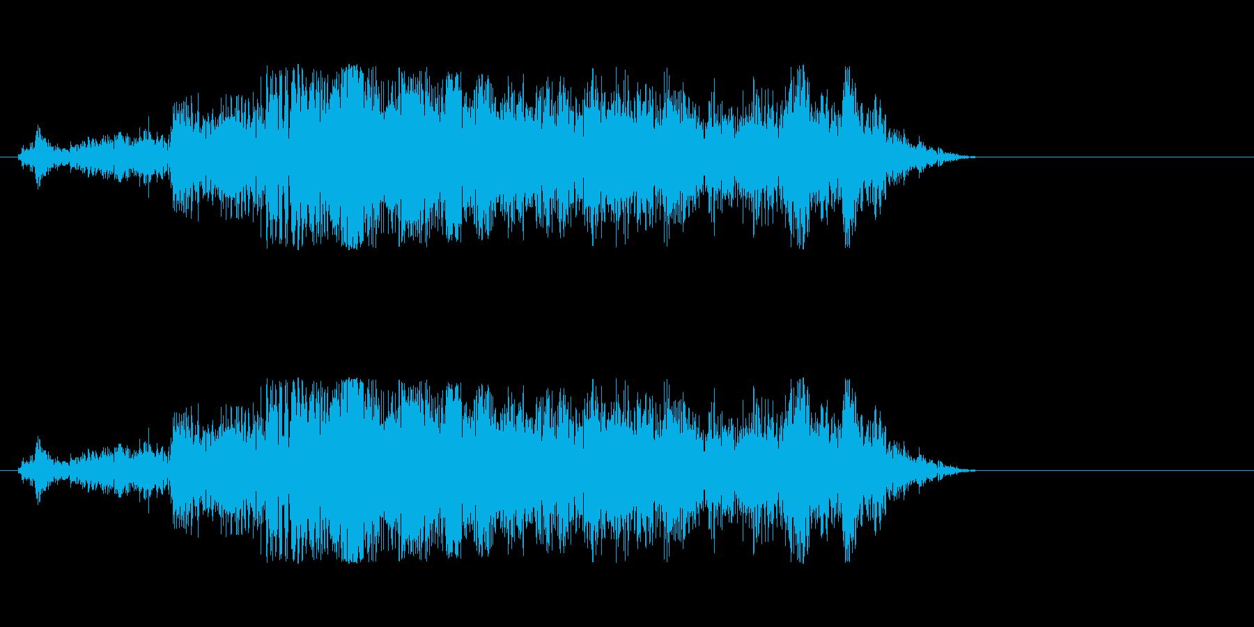 仕掛け・重い仕掛けを動かすの再生済みの波形