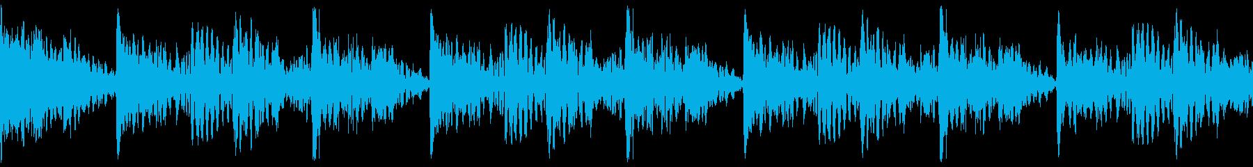 和楽器 民族楽器 太鼓 囃子 祭 リズムの再生済みの波形