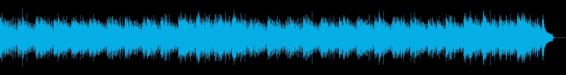 ドラム無し企業VPしっとりした雰囲気の曲の再生済みの波形