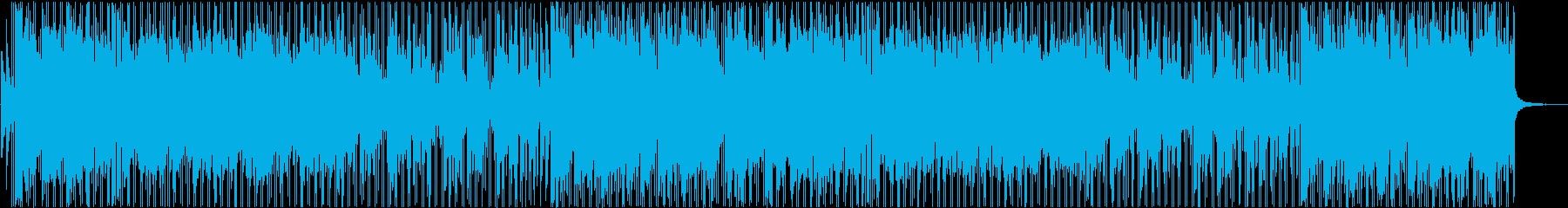 カートレースに合いそうな砂漠系BGMの再生済みの波形