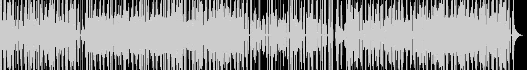 弾力性あるレトロなゲーム風サウンドの未再生の波形