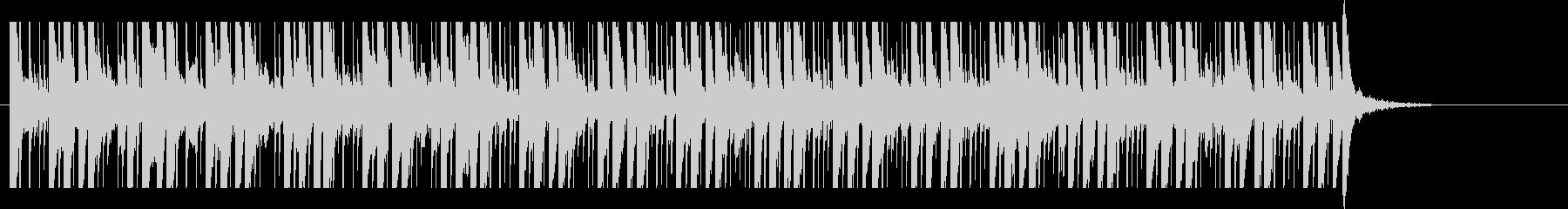 クラシック、ヒップホップ、ビート、ハッピの未再生の波形