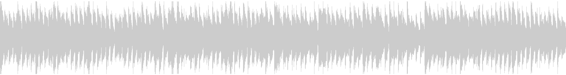 ファンタジー感のあるリコーダー※ループ版の未再生の波形